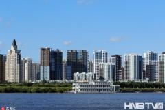 哈尔滨新区生态环境优良 秋来景色亮丽