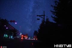 漠河:远离城市喧嚣 神州北极夜空美轮美奂(组图)