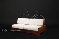 给自行车找个好窝!智利创意单车家具满足骑行家的文艺心