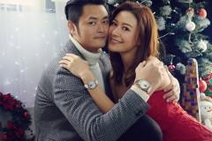 """""""准夫妻""""江若琳与萧润邦合体拍写真 分享甜蜜点滴共度浪漫圣诞"""