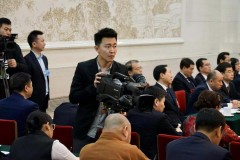 黑龙江代表团全体会议向媒体开放(组图一)